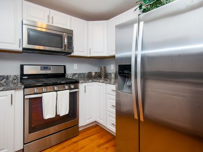 Photo for Private 2bd Boston condo w/ everything- close to airport T, minutes to downtown
