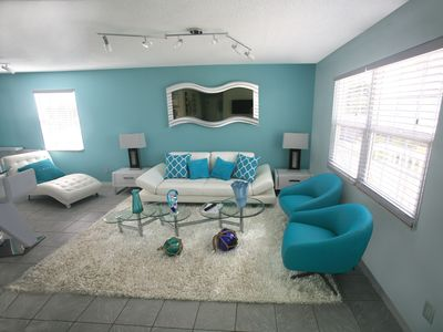 Photo for 15 % OFF FAIRWEATHER #3 A FEW STEPS TO THE BEACH,SPACIOUS 3BEDROOM CONDO,POOL