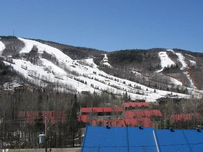 Photo for Condo Stoneham, come for the ski, stay for the view.