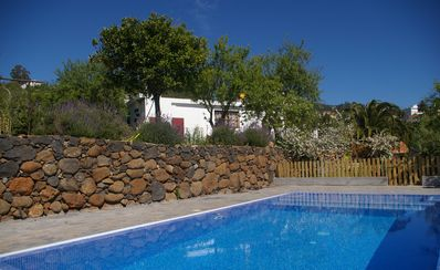 Photo for Comfortable traditional Canary house with sea views and private Swimming Pool