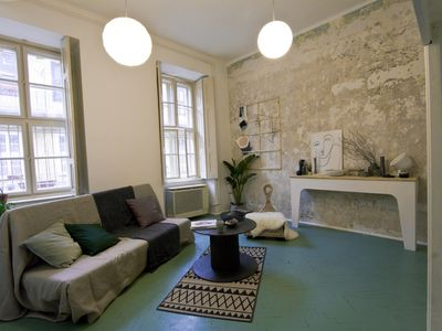 Photo for Art-inspired downtown apt w/ 5*reviews