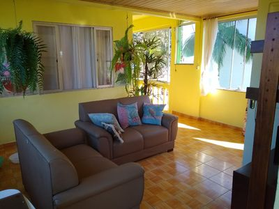 Photo for House 30 steps from Estaleirinho Beach, well located and safe