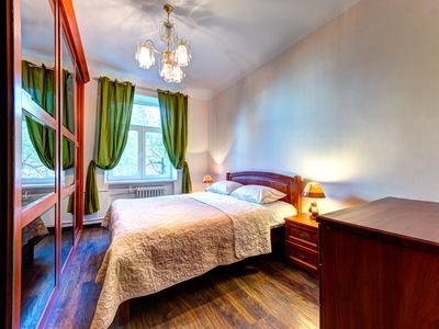 Photo for Bright two bedroom apartment on Klovsky Descent