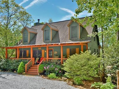 Photo for NEW LISTING! WINE DOWN at our Cozy Highlands Mountain Retreat with great views