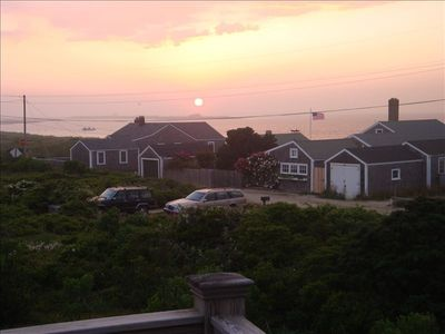 Photo for Madaket Beach House - Sweeping Views of Both Harbor & Sea