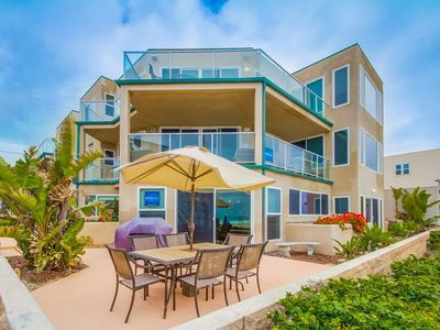🌴 Oceanfront in Mission Beach! 🌴 Perfect Beach Getaway! 🌊