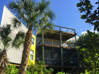 Photo for Easy Walk to Beautiful Beach, Sleep 10 In Beds, Watch the Sunset From Your Deck