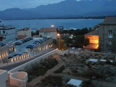 Photo for Calvi 150m CENTER OF BEACH APARTMENT T2 VERY SUNNY VIEW / SEA AND PORT