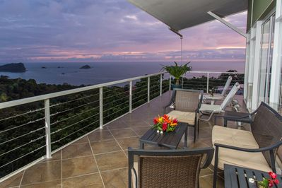 Private Terrace, Penthouse at Sunset