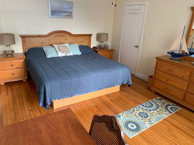 Photo for Modern Clean 1BR/1BA Steps from Sand Free Parking King Bed