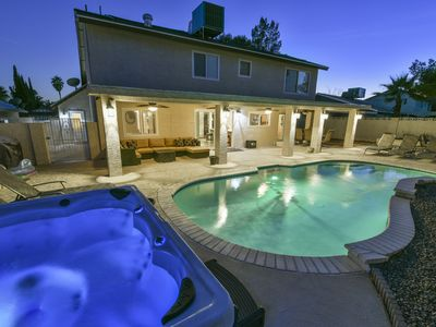 Must See Virtual Tour! One Of The Area's Most Beautiful Homes. 3 Miles To Strip!