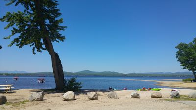 Photo for LARGE Lake Home. SANDY BEACH Access. PERFECT for Families with KIDS!  Golf!