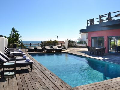 Photo for Luxury Villa with sea views, only within 200 mts from the beach
