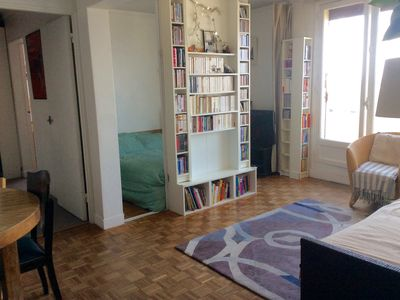 Photo for Charming apartment overlooking Paris. Cosy apartment with view of Paris.
