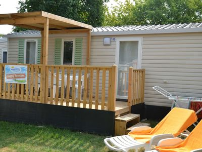Photo for Mobilehome on the campsite