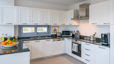 Fully functional and well appointed kitchen