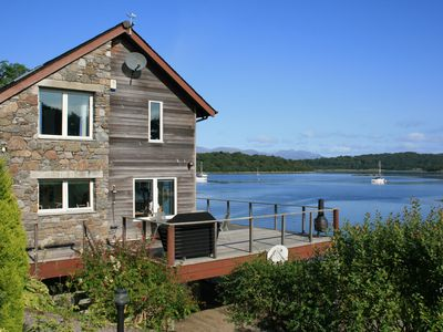 Photo for Contemporary Designed House Situated On Loch Creran with water access