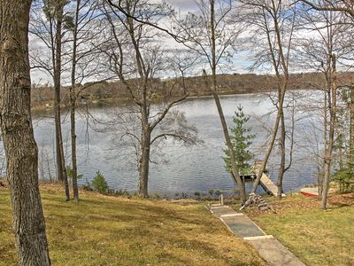 Photo for Balsam Lakefront Home w/ Private Dock & Kayaks!
