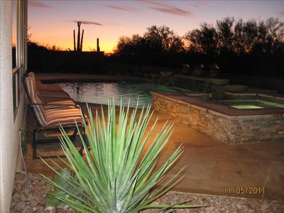 Photo for Beautiful Anthem Resort Home - Luxury Heated Pool & Spa