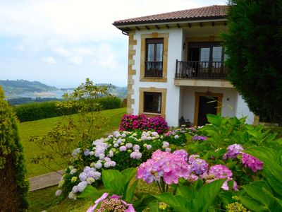 Photo for Tipical house with garden near of the beach