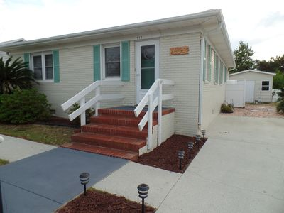 Photo for *NEW* COMPLETELY renovated, IMMACULATE HOME, 4 min walk to beach & pier,3rd bdrm