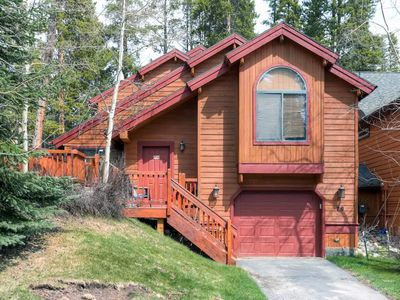 Photo for Park Forest Chalet-Close to Shuttle & Slopes Peak 8-Private Hot Tub-Dog Friendly