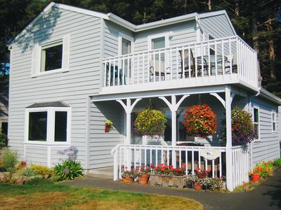 Charming Four Bedroom Two Story Home One Block From The Beach