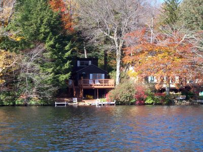 Photo for Lakefront Cottage In The Berkshires In Western Massachusetts