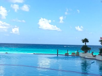Photo for STUDIO WITH OCEAN VIEW IN CANCUN PLAZA