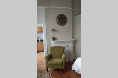 Bedroom 2: Fireplace Chair