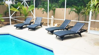 Sun Lovers Chill Zone- Comfortable Chaise Loungers