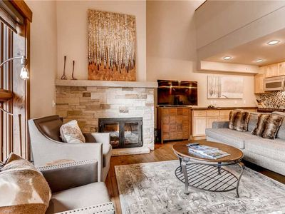 Photo for Luxury Vail 1 Bedroom + Loft, Ski-in/Ski-out, Mountain View, Hot Tub, Pool