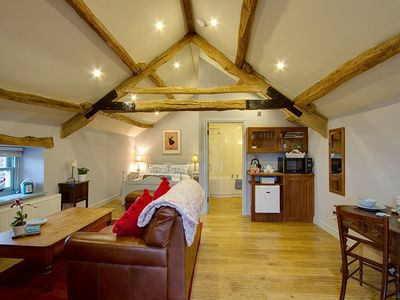 Photo for The Hayloft - Stunning Studio Apartment For Two, western coast of Cumbria
