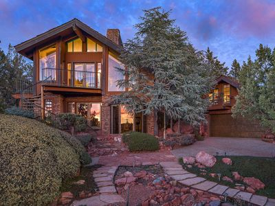 Photo for Unique Sedona Home w/ Mtn Views & Guest House!