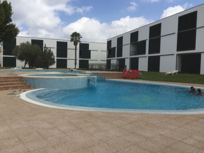 Photo for Cosy Apartment Xaloc with Shared Pool, private terrace, WiFi and Air Conditioner