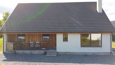 Photo for Stunning modern spacious 3 bedroom cottage in heart of the highlands - Loch Ness