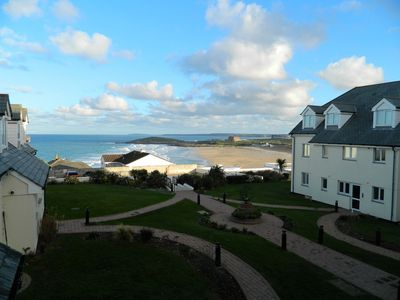 Photo for Modern Apartment with Breathtaking Views of Fistral Beach, Newquay