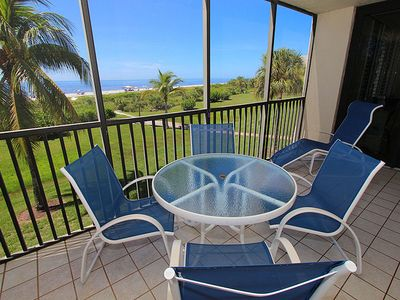 Photo for Nicely Decorated, Gulf Front, 2 Balconies- Loggerhead Cay 512