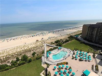 Photo for E1505N: 2BR Sea Colony Oceanfront Penthouse! Private Beach, Pools, Tennis ...