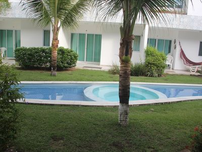Photo for House, 4 rooms in condominium with pool, sauna, whirlpool and grills.