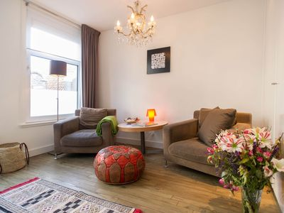 Photo for Romantic and stylish studio apartment, for up to two people, in the trendy Jordaan area in Amsterdam
