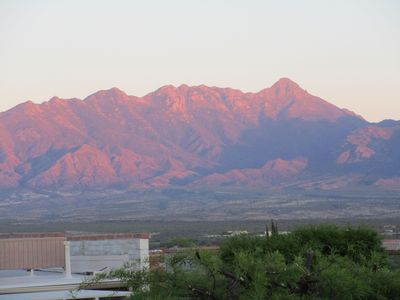 Photo for Enjoy Ever-Changing views of the Santa Rita Mountains