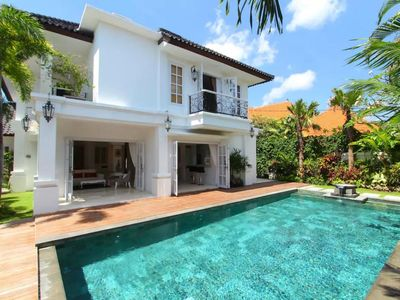 Photo for Colonial Villa in Seminyak center