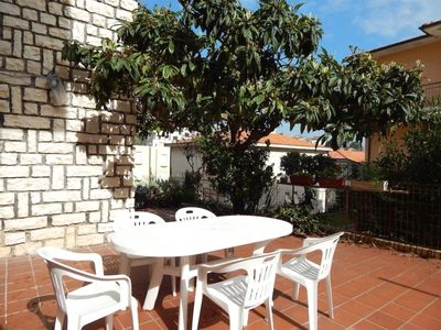 Photo for N63 - Numana, four-room apartment with courtyard 200 meters from the sea