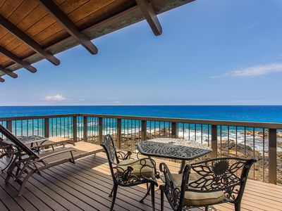 Photo for Gated Oceanfront | 2 Bdm Plus Den | Sleeps 6 | Spectacular Views | Starts at $445/nt