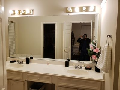 Photo for private room with private bathroom for $30/day