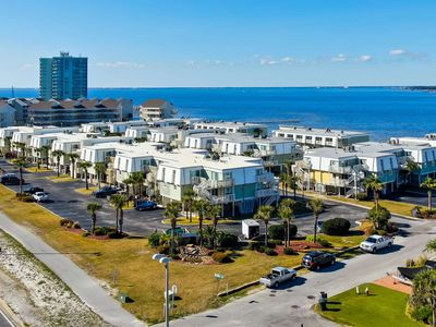 Photo for Newly Listed Boardwalk Townhome With Beach And Bay Views - Budget Friendly Family Getaway