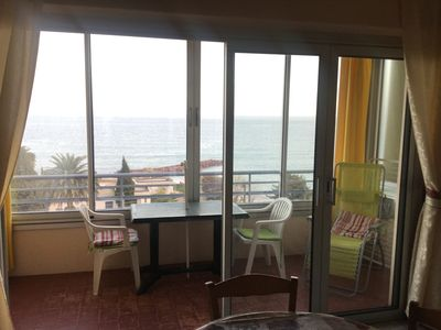 Photo for superb apartment less than 100m from the beach.