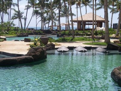 Photo for Ko Olina Beach Villa Luxury Condo ON Beach With Pools, Hot Tubs and Gym