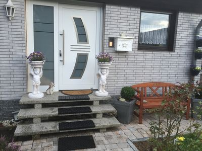 Photo for The apartment is located in a quiet residential area the A7 A44 + A49 to whom. Min. From